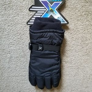 NWT ZeroXPosur Black Gloves (Youth)